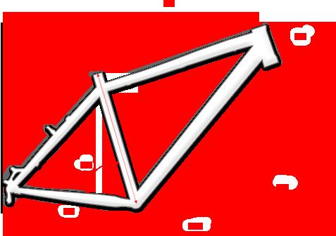 Geometria roweru Kross Esker