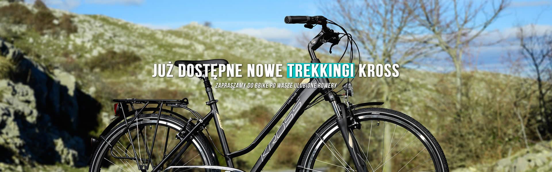 Rowery Kross Trans znowu dostępne! Zobacz damskie trekkingi