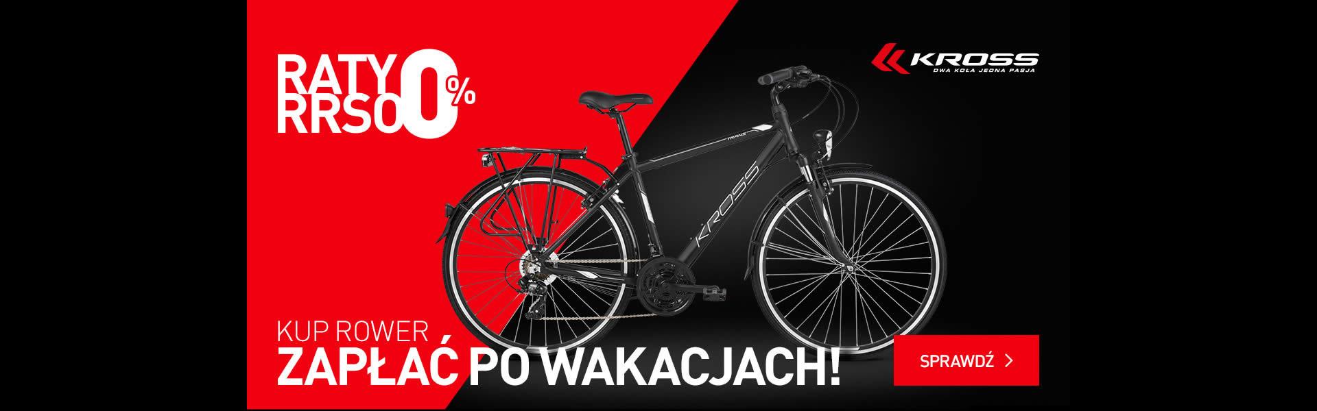 Raty 0% na rowery kross w bbike Wrocław